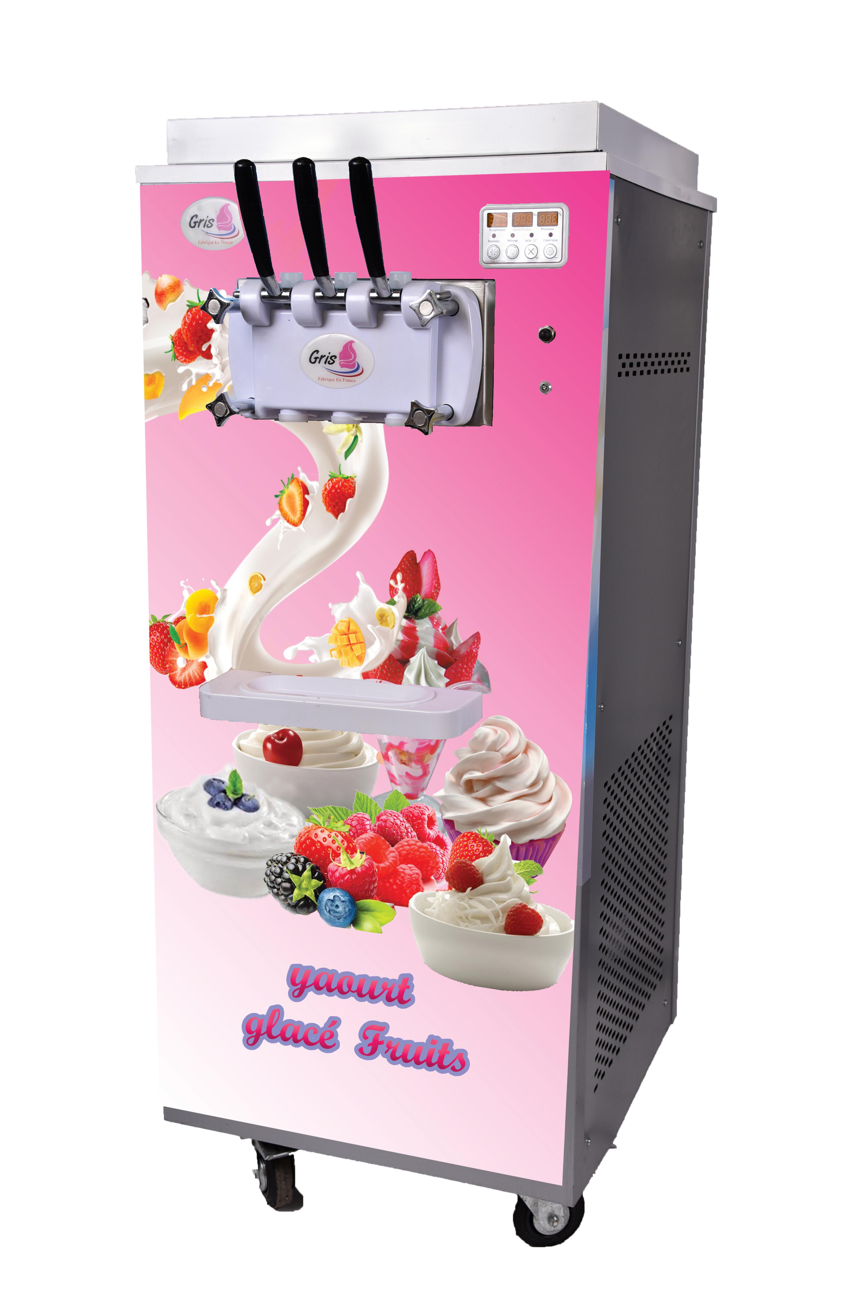 machine yaourt glacé frozen yogourt