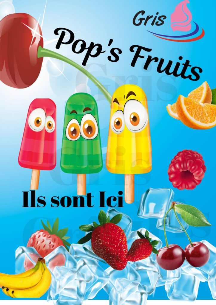 Pop is fruits by Gris